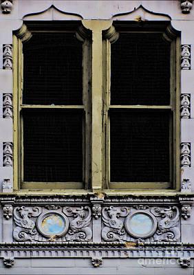 Photograph - Darkened Windows by Steven Parker