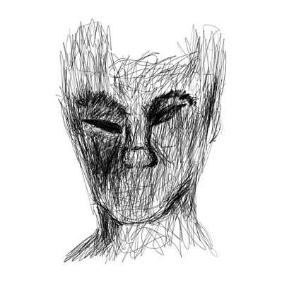 Drawing - Darker Urges by Bill Owen