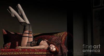 Digital Art - Darkness 2 by Georgina Hannay
