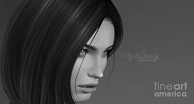 Digital Art - Darkness 4 by Georgina Hannay