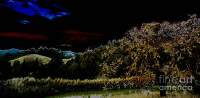 Darkness At The Edge Of Dawn Art Print by JoAnn SkyWatcher