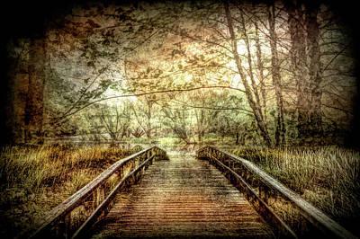 Photograph - Darkness Falls At The Lake by Debra and Dave Vanderlaan