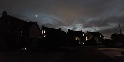 Townhouse Photograph - Darkness Falls At The Point by Betsy Knapp
