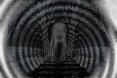 Digital Art - Darkness My Old Friend by John Haldane