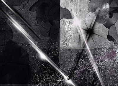 Digital Art - Darkroom II by Jos Verhoeven
