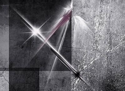 Digital Art - Darkroom Iv by Jos Verhoeven