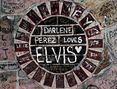 Photograph - Darlene Love Elvis by David Bearden