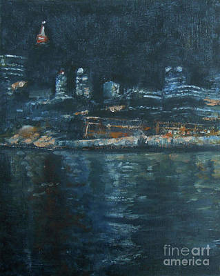 Painting - Darling Harbour by Jane See