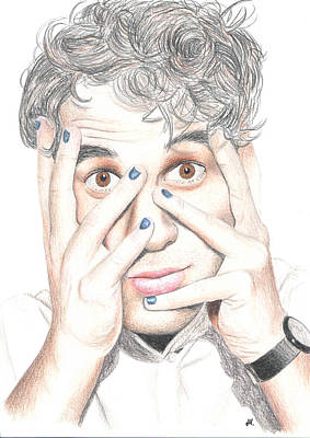 Darren Drawing - Darren Criss Hands by Mygleefanart