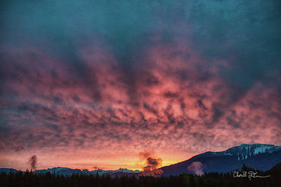 Photograph - Darrington Sunrise by Charlie Duncan