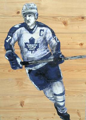 Toronto Maple Leafs Painting - Darryl Sittler by Carly Jaye Smith