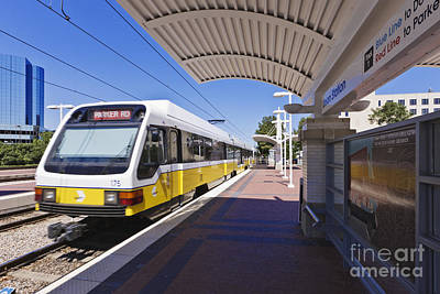 Dart Rail Train Station Art Print by Jeremy Woodhouse