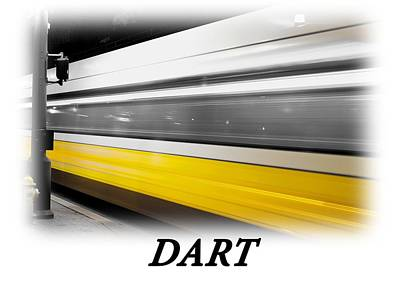 Photograph - Dart Train T-shirt by Rospotte Photography