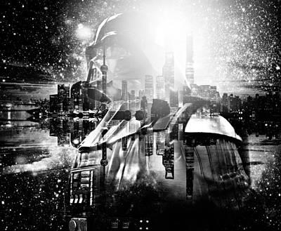 Photograph - Darth Vader Abstract Xix by Aurelio Zucco