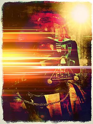 Photograph - Darth Vader Abstract Xv by Aurelio Zucco