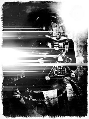 Photograph - Darth Vader Abstract Xvi by Aurelio Zucco
