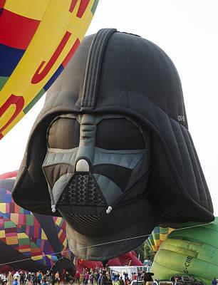 Darth Vader Art Print by Rick Mosher