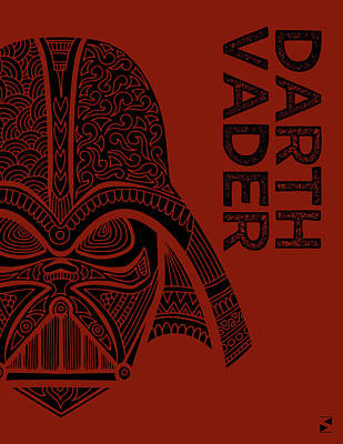Royalty-Free and Rights-Managed Images - Darth Vader - Star Wars Art  by Studio Grafiikka
