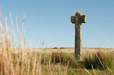 Photograph - Dartmoor Cross II by Helen Northcott