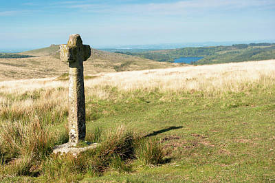 Photograph - Dartmoor Cross Iv by Helen Northcott