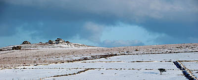 Photograph - Dartmoor In The Snow II by Helen Northcott