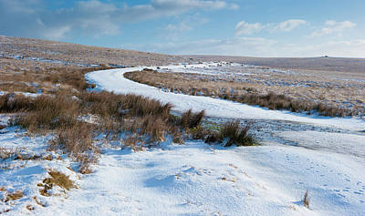 Photograph - Dartmoor In The Snow V by Helen Northcott