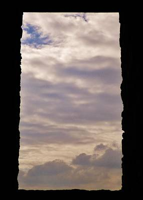 Photograph - Dartmoor Sky From Abandoned Mine Engine House by Richard Brookes