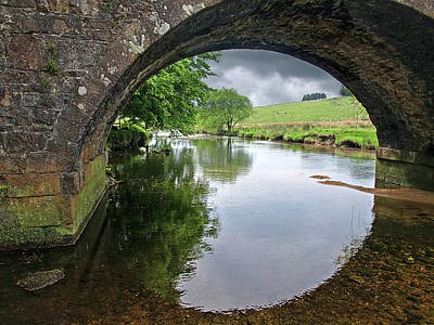 Photograph - Dartmoor Through The Bridge by Gill Billington