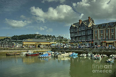 Dartmouth Station  Art Print by Rob Hawkins