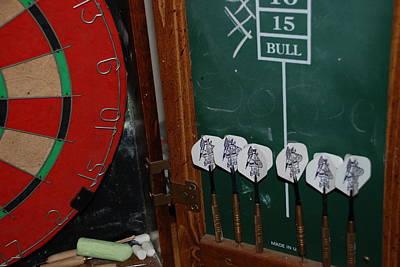 Photograph - Darts And Board by Rob Hans
