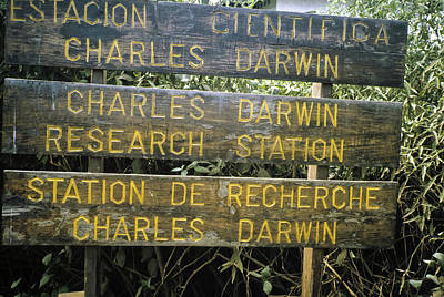 Darwin Research Center Photograph - Darwin Center Directions by VSP Images