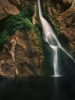 Photograph - Darwin Falls - Death Valley by Roland Peachie