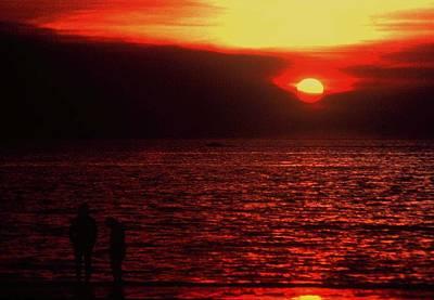 Photograph - Darwin Sunset by Gary Wonning