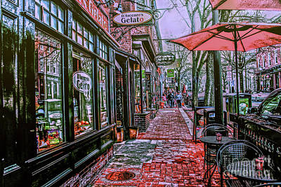 Photograph - D' Ascenzo's Sidewalk View by Sandy Moulder