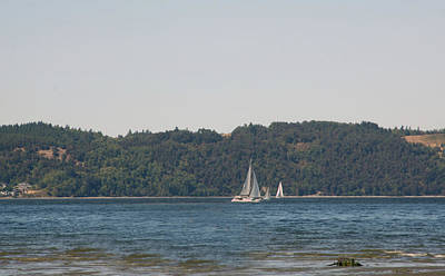 Photograph - Dash Point by Gerald Mitchell