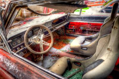 Photograph - Dashboard by Craig Incardone