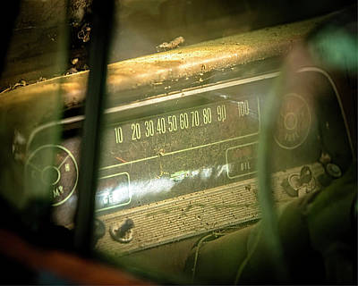 Photograph - Dashboard Glow by Rod Kaye