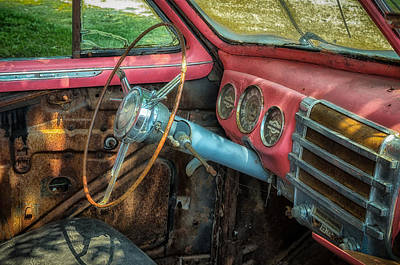 Photograph - Dashboard Memories by James Barber