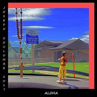 Digital Art - Dashboard Prayers by Joseph Coulombe