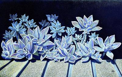 Painting - Datchuck's Garden by Deborah jordan Sackett