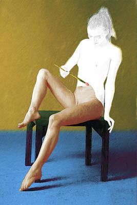Digital Art - Date Night by John Haldane