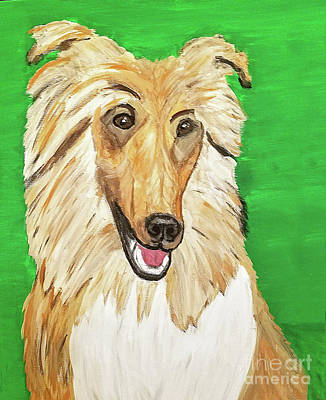 Painting - Date With Paint Feb 19 Duke by Ania M Milo