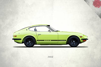 Drifts Photograph - Datsun 240z by Mark Rogan