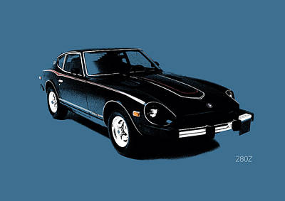 Car Photograph - Datsun 280z by Mark Rogan
