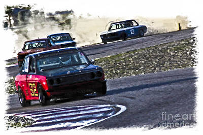 Photograph - Datsun 510 by Tom Griffithe