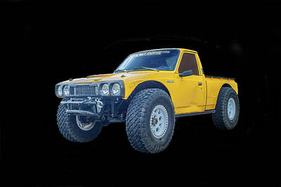 Photograph - Datsun Hilux by Tony Baca