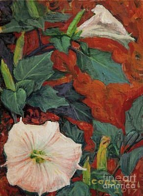 Painting - Datura Flower by Rob Corsetti