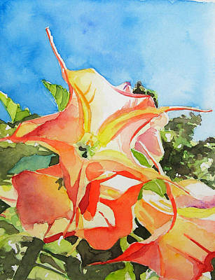 Datura Painting - Datura by Oliver Riedel