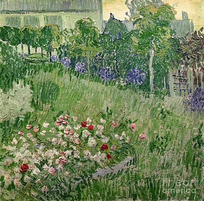 Posts Painting - Daubigny's Garden by Vincent Van Gogh