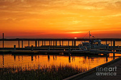 Photograph - Daufuskie Sunset by Paul Mashburn